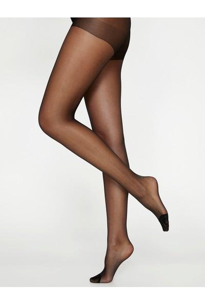 Koton Düz Külotlu Çorap