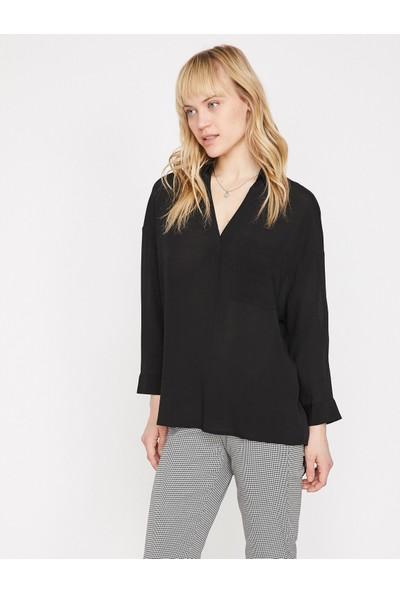 Koton Sırt Detaylı Bluz