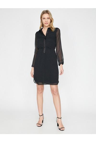 Koton Puantiyeli Elbise