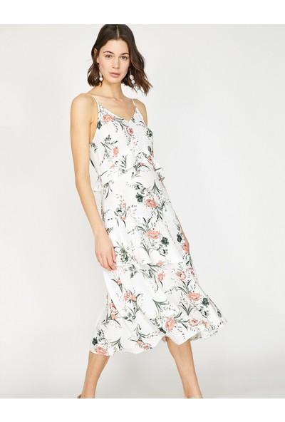 Koton Çiçekli Elbise