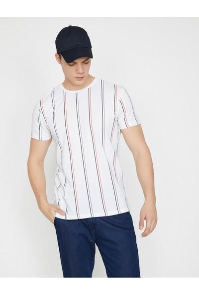 Koton Çizgili T-Shirt
