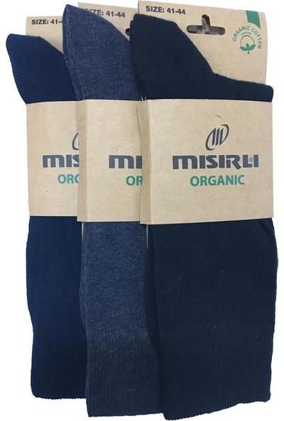 Mısırlı Çorap Mısırlı 3 Adet Mevsimlik Organik Erkek Çorap -1220