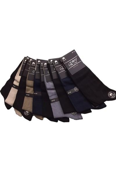 Emre 10 Lu Ince Yazlık Pamuklu Erkek Çorap