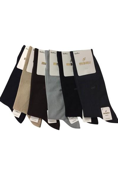 Mısırlı 6 Lı Bambu Erkek Çorap