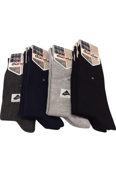 Dündar 12 Li Ekonomik Pamuklu Erkek Çorap