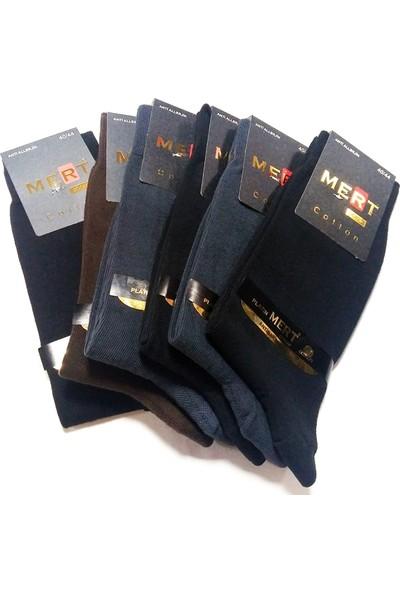 Mert Erkek Kişlik Coton Çorap 6 Li Set