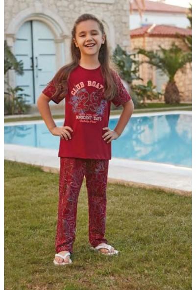 Feyza Kiz Çocuk Kisa Kol Pijama Takim