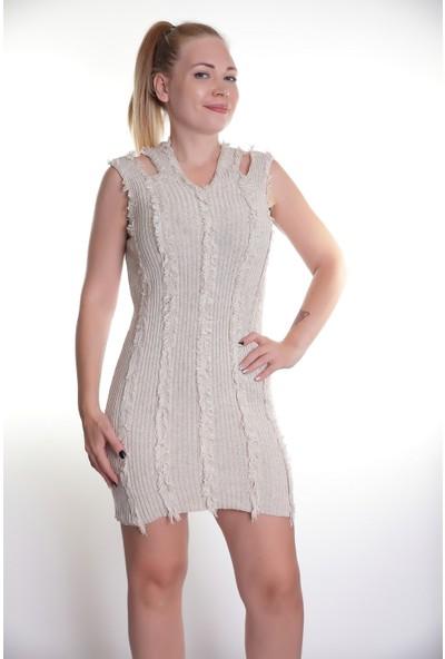 Kerem Bayan Triko Elbise 121