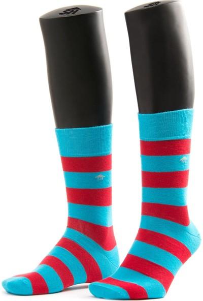 The Socks House Kalın Çember Desenli Çorap