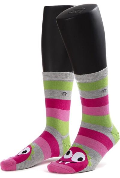 The Socks House Çılgın Çilek Desenli Çorap