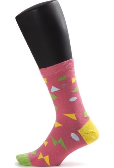 The Socks House Üçgen Puantiye Desenli Çorap