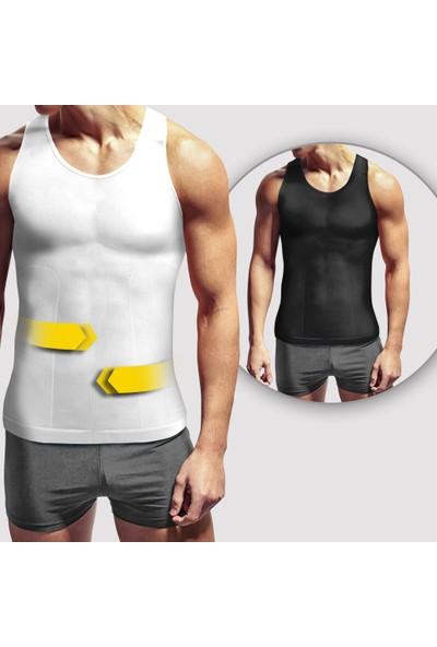 Lipoactif T120Nb Siyah Ve Beyaz Şekillendirici Atlet