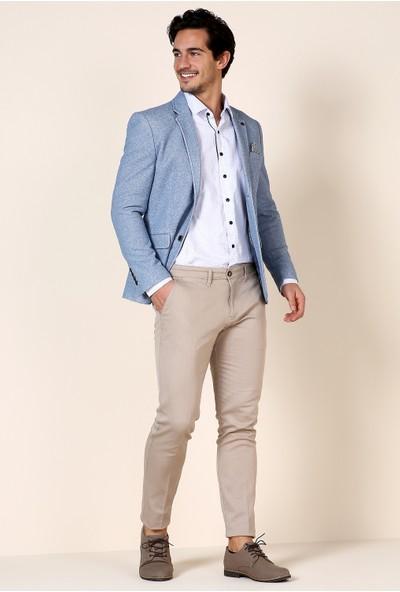Defacto Erkek Slim Fit Dokuma Pantolon