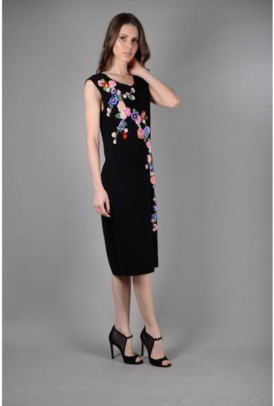 Graffin Triko Kolsuz Elbise