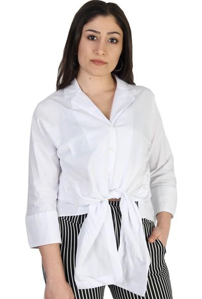 Paket Önden Bağlamalı Kadın Gömlek