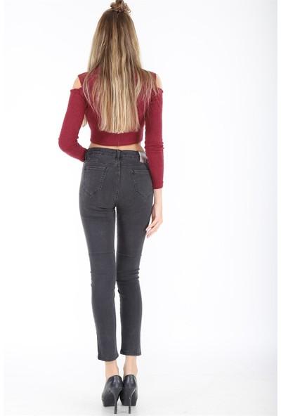 Twister Jeans Kadın M Gri