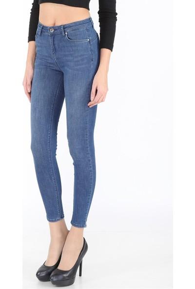 Twister Jeans Kadın M Mavi
