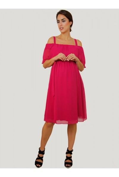 Işşıl Bolero Mini Baby Shower Hamile Elbise