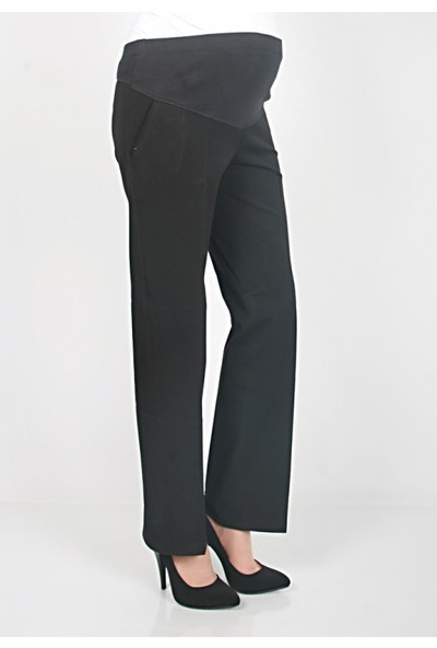 Işşıl Hamile Giyim Boru Paça Klasik Kumaş Pantolon