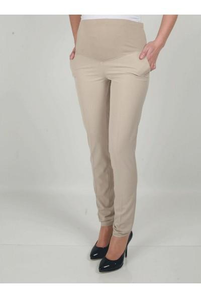 Işşıl Hamile Giyim Dar Paça Kumaş Pantolon