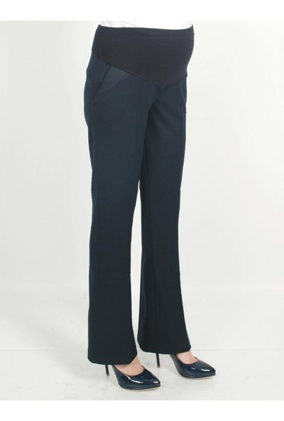 Işşıl Hamile Giyim İspanyol Paça Kumaş Pantolon