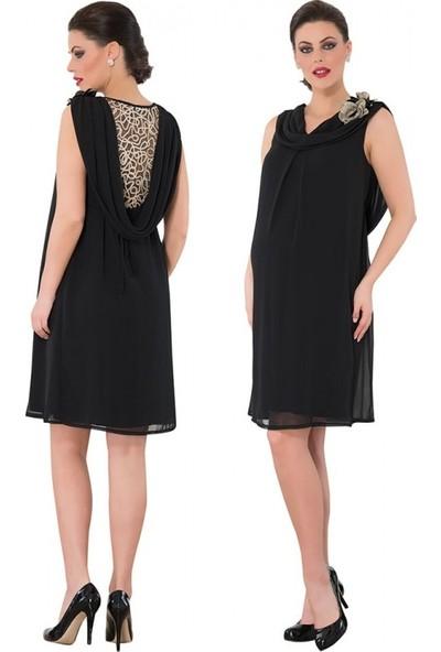 Işşıl Hamile Giyim Mini Degaje Abiye Elbise