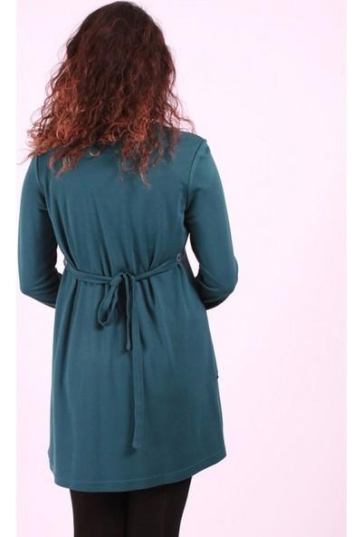 Işşıl Hamile Giyim Sıra Düğmeli Tunik