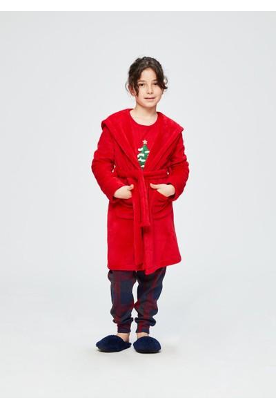 Dagi Kız Çocuk Dgc10745 Polar Kapş. Sabahlık