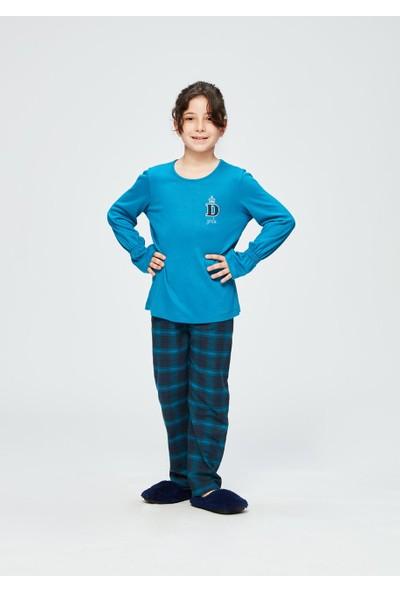 Dagi Kız Çocuk Dgc10803 Pijama Takımı