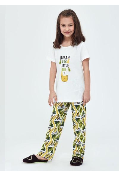 Dagi Kız Çocuk Dgc11591 Pijama Takımı