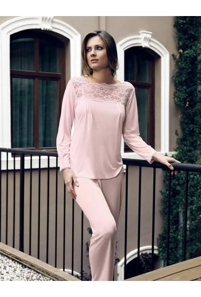 Miss Carmen Lohusa-Hamile Penye Pijama Takımı Pr2018