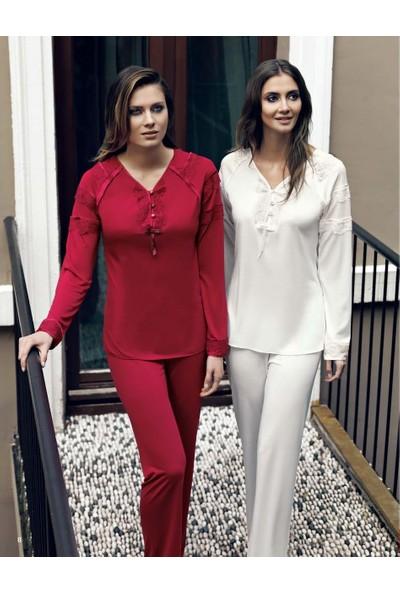 Miss Carmen Lohusa-Hamile Penye Pijama Takımı Pr2021