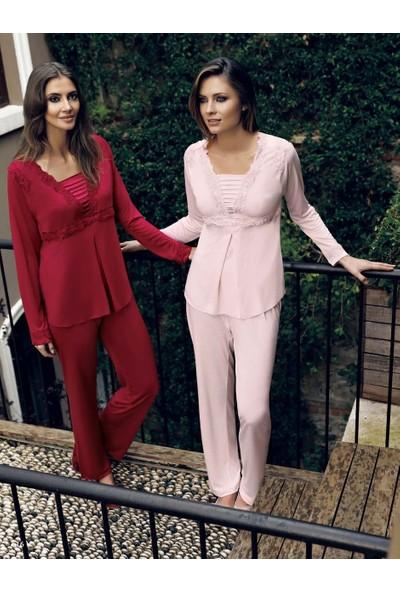 Miss Carmen Lohusa-Hamile Penye Pijama Takımı Pr2025