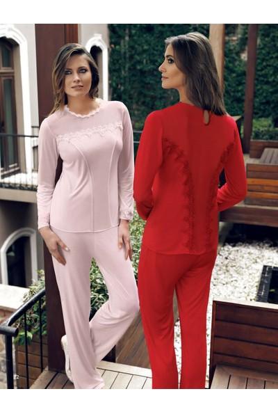 Miss Carmen Lohusa-Hamile Penye Pijama Takımı Pr2028
