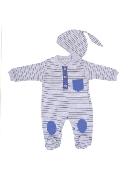 Ufaklik Ufaklık Şapkalı Bebek Tulumu 2408