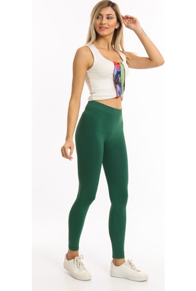 Bianco Lucci Haki Neon Renk Toparlayıcı Incetayt Fitness