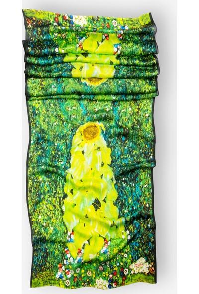 Galiga Ipek Fular - Klimt-The Sunflowers