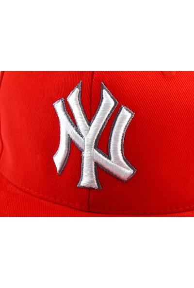 Tek Ny Cap Şapka Kırmızı Şapka Yazlık Kışlık
