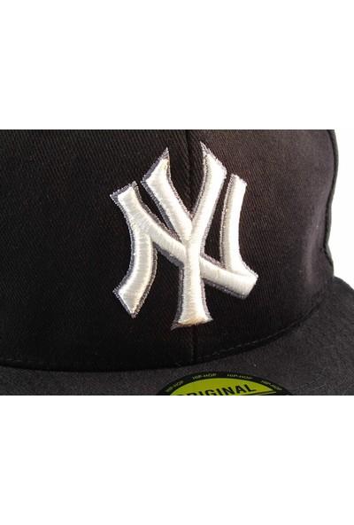Tek Ny Cap Şapka Siyah Şapkası Kışlık Yazlık