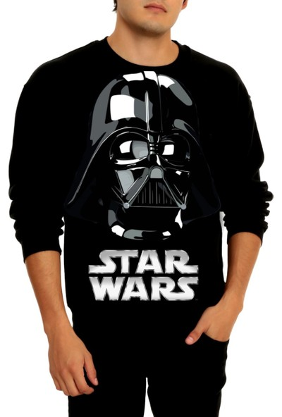 Nilsport Darth Vader Kapşonlu Sweat