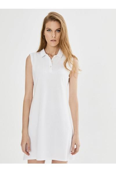Xint Polo Yaka Kolsuz Basic Elbise