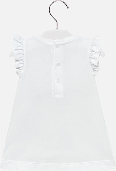 Mayoral Kız Bebek Baskılı Penye Elbise