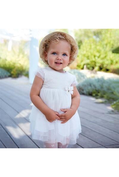 Mayoral Kız Bebek Jakarlı Şık Elbise