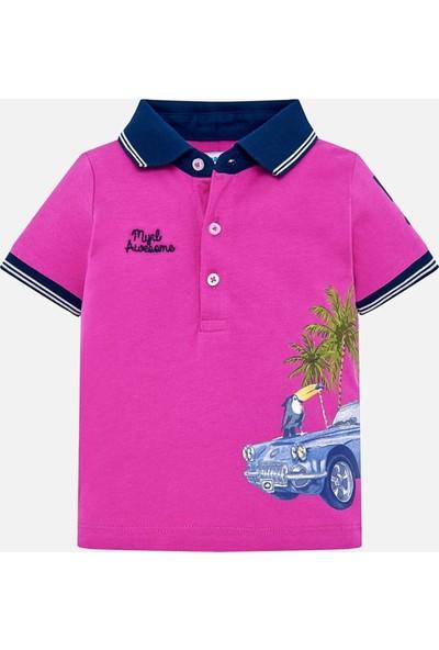 Mayoral Erkek Bebek Baskılı Polo Yaka T-Shirt
