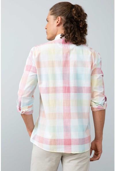 U.S. Polo Assn. Erkek Dokuma Gömlek 50199870-Vr041