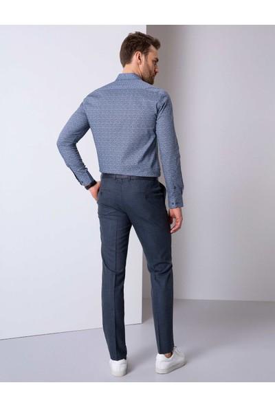 Pierre Cardin Lacivert Slim Fit Pantolon 50205397-VR033