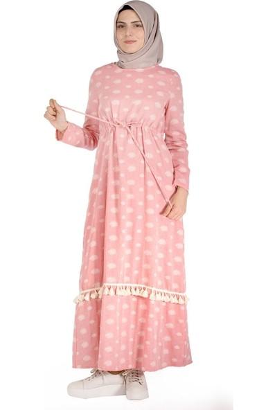 Sofmina Elbise Nvsy18Y019 - Pembe
