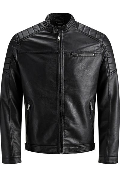 Jack & Jones 12147218 Erkek Jcorocky Jacket Noos Ceket Black