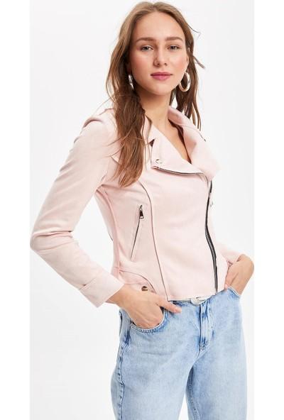 Defacto Kadın Fermuarlı Ceket