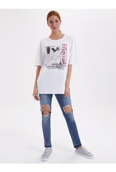 Loft 2019438 Kadın T-Shirt